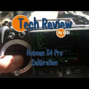 Hubsan X4 Pro H109S drone Calibration - YouTube