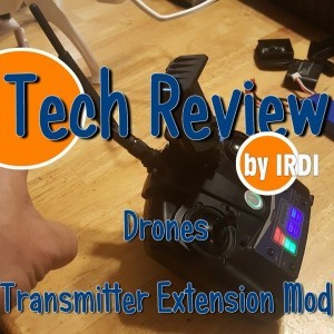 Drone & Transmitter Range Extension Mod! - YouTube