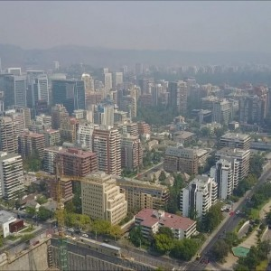 The smoke from forest fire cloaked Santiago in a thick haze. - YouTube
