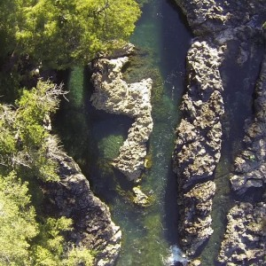 Drone at a river in Valdivia Province, Chile - YouTube