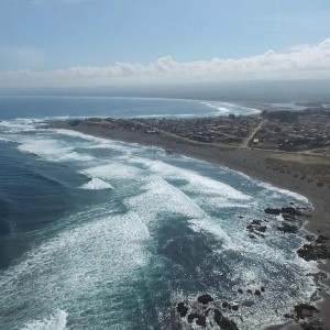 Pichilemu beach in Chile - YouTube