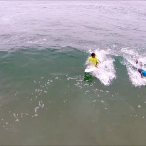 Learn how to surf at Renaca in Chile  (Drone footage) - YouTube