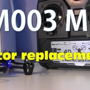 DM003 Drone Motor Replacement - YouTube