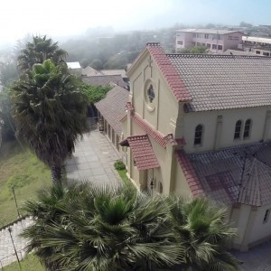 Aerial view of a Church in Concon Province, Chile - YouTube